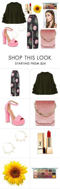 """Gorgeous"" by catsofia10 ❤ liked on Polyvore featuring Voodoo Vixen, Chinese Laundry, Cafuné, Justine Clenquet and Yves Saint Laurent"