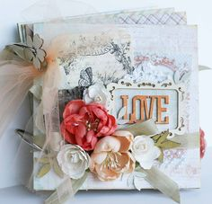 Love Mini-Album by Sharon for Prima - Scrapbook.com