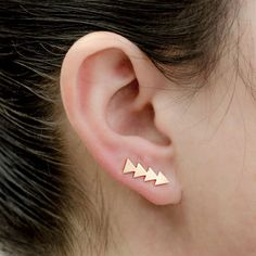 SEXY SPARKLES Ear Climbers/Ear Crawlers Earrings Cuff Climber Pins