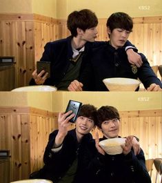 It's not unusual for top actors and actresses of the same generation to breach their onscreen rivalry for the same roles to a offscreen real friendship. A few come to mind that includes Lee Jong Seok and Kim Woo Bin, … Continue reading → Doctor Stranger, School 2013, Kim Woo Bin, Acting Career, Lee Jong Suk, Korean Actors, Short Film, Actors & Actresses, Hawaiian