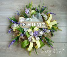 Summer wreath, Summer door wreath, Sommer türkranz , Home, Door decoration, from Europe by TrendyDecorShop on Etsy