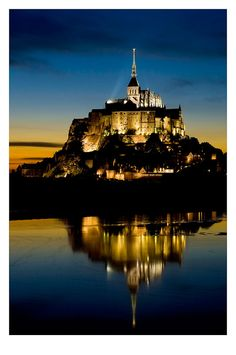 Le Mont-Saint-Michel, Basse-Normandie_ North France