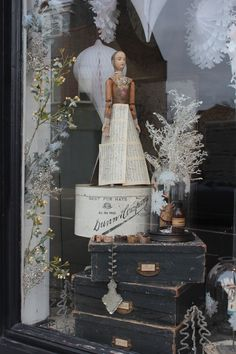 discoverattic:  attic. WIndow Display. http://discoverattic.com (attic.©2013)