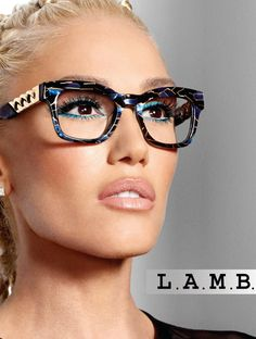 Gwen Stefani's Glasses-Wearing Son Zuma Inspired Her New Eyewear Collection: 'He's So Proud!' Gwen Stefani's Glasses-Wearing Son Zuma Inspired Her New Eyewear Collection: 'He's So Proud!',gwen Gwen Stefani's new eyewear line. Cute Sunglasses, Cat Eye Sunglasses, Sunglasses Women, Sunnies, Gwen Stefani Style, Gwen Stefani Makeup, Lunette Style, Winter Typ, Cool Glasses