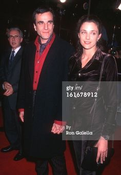 Actor Daniel Day-Lewis and wife Rebecca Miller attend 'The Crucible' Beverly Hills Premiere on November 20, 1996 at the Academy of Motion Picture Arts & Sciences in Beverly Hills, California. (Photo by Ron Galella, Ltd./WireImage)