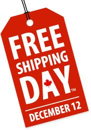 Get free shipping vouchers and coupon codes from hundreds of your favourite stores this year by visiting us on Free Shipping Day, Dec. 12th, 2013.  Go Natural Coupon Code:  FREESHIPPING18