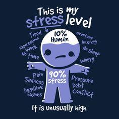 high stress level - NeatoShop
