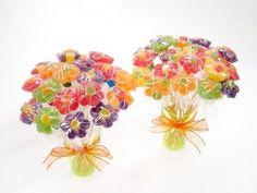 Como Fazer Flor de Bala de Jujuba (Bala de Goma) - Tutorial - YouTube