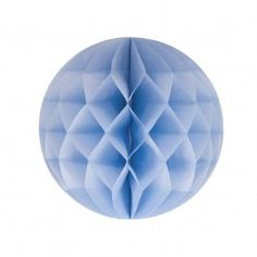 Lyseblå Honeycomb 20 cm