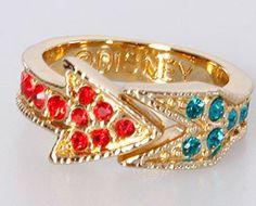 Disney Couture Pocahontas Jeweled Arrow Ring