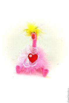Купить игрушка Курица розовая (птичка,цыпленок,фламинго,сердце) - розовый, цыпленок, цыпленок игрушка
