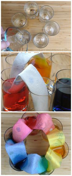 Do this fun walking water rainbow science experiment with the kids! Super fun and cool kids activity for a rainy day.