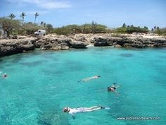 Aruba - Best snorkeling in this little cove.