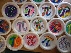 pi günü için 5.sınıf öğrencilerimin tasarımları...