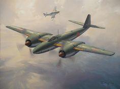 """Mitsubishi Ki-83 Experimental Long Range Fighter"", Darryl Legg"