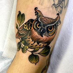#owl  - tattoo문의&상담:카톡ID:qpqpgi Tattoo machines by @cstattoomachine #owltattoo#crystaltattoo#tattoovim#타투이스트크리스탈#부엉이타투#스캇머신#이바사타투