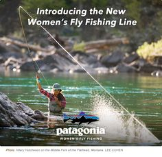 April Vokey shows off the new Patagonia womens fly fishing clothing line. Waders and jacket are amazing!