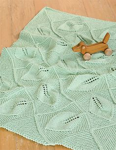 Beautiful Little Baby Blanket! Make your own in DROPS Paris! Ravelry: Spring Blanket by Mel Clark