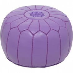 Lavender Moroccan Pouf - (exact pouf in Violet's room)