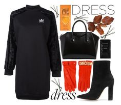 """Winter Dress"" by katerin4e-d ❤ liked on Polyvore featuring adidas Originals, Gianvito Rossi, Givenchy, Moschino, Cleanse by Lauren Napier and BOBBY"