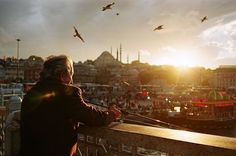 A sunset in İstanbul Photo by Ahmet Yasin Güler -- National Geographic Your Shot