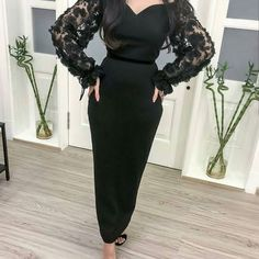 Hijab Prom Dress, Hijab Evening Dress, Prom Dresses Long With Sleeves, Black Evening Dresses, Black Prom Dresses, Evening Gowns, Formal Dresses, Dress Black, Party Dresses