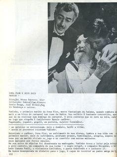 Revista Close up  - Filme Dona Flor e seus dois maridos;