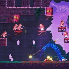 'Apocalypse Cow' is a platform game inspired by 'Wreck-It Ralph' 'Apocalypse Cow' is a 2D platformer inspired by 'Wreck-It Ralph.' http://crwd.fr/2pupEjV #indiegame #indiedev #gaming #gamer #gamstagram #instagaming #instagamer #2d #platformer