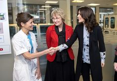 Crown Princess Mary visited Copenhagen Baby Heart at Rigshospitalet