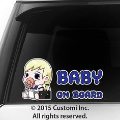 Baby On Board Car Decal FULL COLOR Sticker Pacifier by CustomiInc $5.99 Awesome Gift for Baby Shower Decal Sticker Sign Vinyl Pregnancy Motherhood Maternity Newborn Expecting Birth Child Safety Little Princess in Car Present Family Bumper Funny BIMBO A BORDO BÉBÉ À BORD BEBÉ A BORDO BABY AN BORD BEBÊ A BORDO