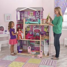 Doll house for an American girl.. My daughter would love this!