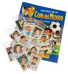Panini World Cup Story - alle 228 Sticker + Album, Stickerpoint