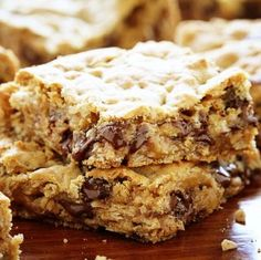 These Gooey Chocolate Oatmeal Bars and DANGEROUS to have around!