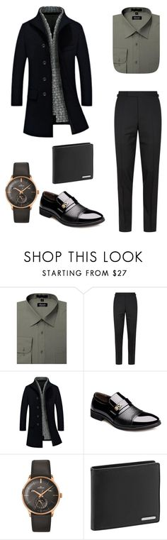 """Men Fashion"" by merve-hotkid on Polyvore featuring Tom Ford, Longines, Porsche Design Sport, men's fashion and menswear"