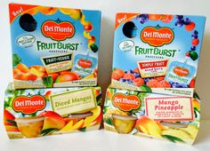 Mom in Training: Del Monte® Squeezers and Fruit Cup Snacks with $25 Walmart GC #Giveaway - Ends 2-27