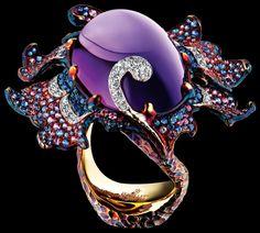 High Jewelry, Modern Jewelry, Jewelry Accessories, Unique Jewelry, Urban Jewelry, Geek Jewelry, Gothic Jewelry, Purple Jewelry, Amethyst Jewelry