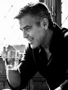 The always good-looking and dapper, George Clooney #men