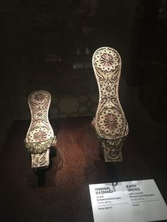 Filigree bath shoes from the 15th century in Azerbaijan  www.miamicurated.com
