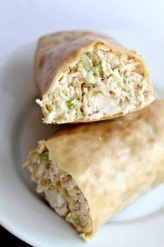 Paleo Chicken Salad Wraps, la ensalada porque los wraps no viene la receta