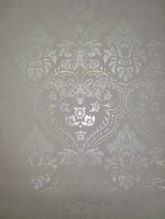 behang creme wit parelmoer barok 3d trendy vlies 168