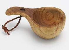 Always room for improvement- even with a classic like the traditional wooden kuksa.