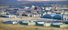 Panel skips but makes voice heard - PHOTO: Aerial view of Wright-Patterson Air Force Base near Dayton, Ohio. Great Photos, Old Photos, Air Force Bases, Dayton Ohio, National Guard, Aerial View, Taj Mahal, Places To Visit, Military