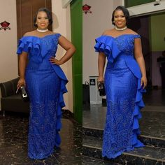Long Gown Ankara, We accept a accumulating of admirable long Ankara gowns styles for the year Nigerian Dress Styles, Ankara Gown Styles, Ankara Gowns, African Lace Styles, African Lace Dresses, Latest African Fashion Dresses, Ankara Fashion, Lace Gown Styles, Latest Aso Ebi Styles