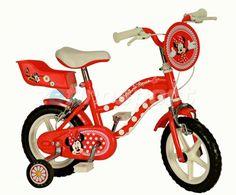Bicicletta Bambina 12'' - 3 4 5 6 Anni Yakari Disney Minnie Topolina - Vendita Online Compra da Zefirosport Tricycle, 3, Vehicles, Disney, Shopping, Swiming Pool, Car, Disney Art, Vehicle