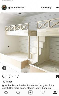 20 Finest Bunk Bed King Full Over Full Bunk Beds Bedroom Sets For Kids – Basement İdeas 2020 Bunk Bed Rooms, Bunk Beds Built In, Full Bunk Beds, Bunk Beds With Stairs, Kids Bunk Beds, Double Bunk Beds, Build In Bunk Beds, Built In Beds For Kids, Bunk Beds For Girls Room