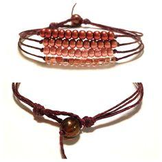 Copper Mix Bracelet by itchelita on Etsy