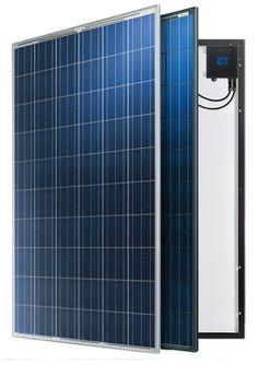 Sustentabilidade Energética Solar Termosolar e Eólica : Nova linha de Painés Solares  ET Solar