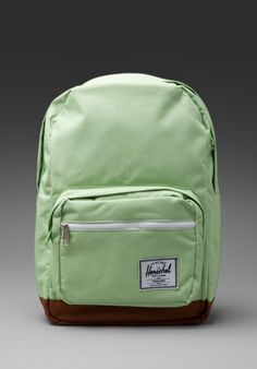 HERSCHEL SUPPLY CO. Pop Quiz Backpack in Sage at Revolve Clothing - Free Shipping! $70