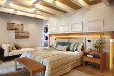 iluminação em led dormitório