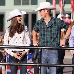 """Prince William and Kate first visited Canada just three months after their royal wedding.<br>The couple really enjoyed their visit and Prince William promised that he and his wife Kate """"shall return"""". """"Canada has far surpassed all that we were promised,"""" the Duke of Cambridge said, sporting a white cowboy hat, western shirt and blue jeans. With Kate at his side, who was also draped head-to-toe in western clothing, William said the couple's week throughout Canada """"exceeded all our…"""